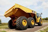 Caterpillar erweitert die Dumper-Palette mit dem neuen Cat 740 GC