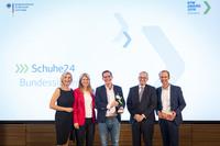 """Großer Erfolg für Wachstums-Champion:  SCHUHE24.DE Bundessieger bei """"KfW Award Gründen"""""""