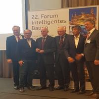 Norbert Lammert, Ranga Yogeshwar, Günter Verheugen und Harry Gatterer zu Gast beim 22. Forum Intelligentes Bauen in Aachen