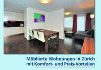 Möblierte Wohnung in Zürich mit Komfort-, Service- und Preis-Vorteilen