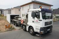 ZAPF-Fertiggarage mit Bauleiterservice
