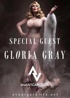 Entertainerin Gloria Gray besucht Avantgardista