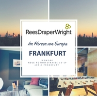 Rees Draper Wright vergrößert das Büro in Frankfurt