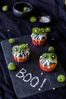 Halloween-Rezeptidee: Monster-Muffins mit Nergi