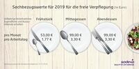 showimage Bundesrat erhöht Verpflegungswerte für Sodexo Restaurantschecks