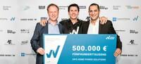 500.000 EUR für das nachhaltigste Startup Deutschlands: Home Power Solutions gewinnt den WIWIN AWARD
