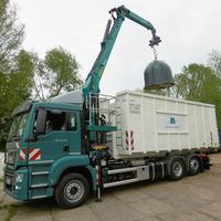 Neues Recyclingfahrzeug für Glassammlung