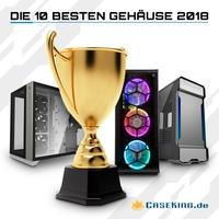 Caseking präsentiert - Die 10 besten PC-Gehäuse 2018.