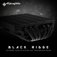 JETZT bei Caseking - Der geniale Alpenföhn Black Ridge Top-Blower-Kühler für ultrakompakte Gaming-PCs.