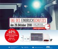 Zum Tag des Einbruchschutzes am 28.10.2018: 40% Rabatt für die intelligente Einbruchschutzanlage AlarmTab
