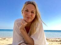Sabine Stollberger auf der 1. Speaker-Cruise der Welt