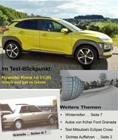 Vom Kona bis zum Granada: Auto-Praxistest-Report