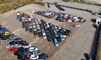 Erste Fahrzeugauktion am neuen Copart-Standort Mannheim