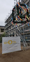 GHOTEL hotel & living Bochum feierte Richtfest - Die Eröffnung ist für Sommer 2019 geplant