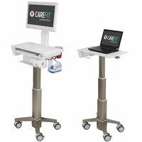 showimage Ergotrons ultraschlanker CareFit Medizinwagen auf der MEDICA