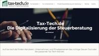 tax-tech.de - Das erste Verzeichnis für digitale Steuererklärung