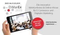 DiMarEx: 35 Fachvorträge zu Trends und Hypes im Digitalen Marketing