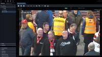 Gesichtserkennungstechnologie von Panasonic reduziert Wartezeiten beim Einlass ins Fußballstadion