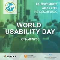 World Usability Day 2018