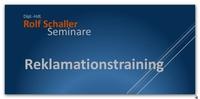 Seminar: Reklamationen lästig oder Chance?