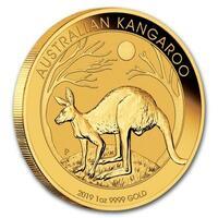 Känguru Goldmünzen 2019 aus Australien hoppeln schon in 2018 durch Deutschland