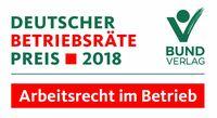 Deutscher Betriebsräte-Preis 2018 verliehen
