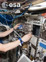 Massendurchflussregler von MKS Instruments im Weltraum