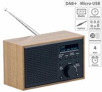 VR-Radio Digitales DAB+/FM-Radio DOR-240