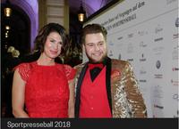 Evo Drinks- der Eyecatcher des Sportpresseballs 2018