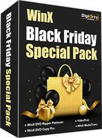 Black Friday Sale 2018 bei WinXDVD mit Rabatten bis zu 75% beginnt