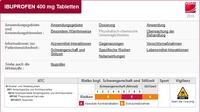 Gelbe Liste Pharmindex Online: Neue generische Wirkstoff-Monographien