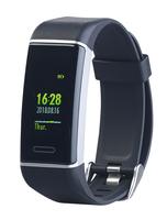 Fitness-GPS-Armband FBT-200.gps mit XL-Farb-Display und App für 24 Sportarten, IP67