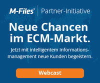 M-Files Partner-Initiative: Neue Chancen im ECM-Markt nutzen