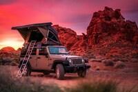 Neu und nur bei CRD International:  per Jeep und Dachzelt durch den Südwesten der USA