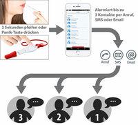 HelpID Notruf-Taster & Alarmpfeife