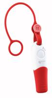 Notruf-Taster und Alarmpfeife, Standort-Übermittlung an 3 Kontakte, App