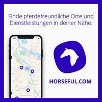 Pferde App Horseful mit weltweit 10.000 Orten für Reiter