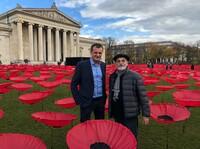 showimage Drahtbiegeteile aus Oberfranken für ein Meer an Mohnblumen als Kunst gegen den Krieg!