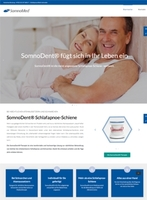 Neue Patientenwebsite bietet Betroffenen Orientierung und Beratung für die Behandlung von Schlafapnoe und Schnarchen mit Schlafapnoe-Schiene.