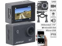 showimage Somikon UHD-Action-Cam DV-3717 mit WLAN