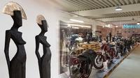 Kunst trifft Technik im Oldtimer-Museum Guben