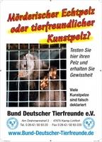 Bund Deutscher Tierfreunde testet Kunstpelze