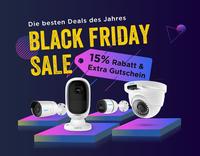 Reolink Black Friday Sale 2018 gestartet: 15% Rabatt & Extra Gutschein