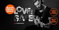 LOVE FOR SALE: Black Friday Deals ab sofort bei beyerdynamic