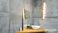 Die Oberfläche TORINO BETON von EINHORN WERKE ® - der raue Reiz moderner Wandgestaltung