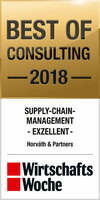 "Horváth & Partners erhält ""Best of Consulting Award"" in der Kategorie Supply-Chain-Management"