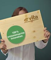 elka mit neuer Hybrid-Holzwerkstoffplatte e-vita