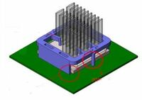 BGA-Kühlkörper mit sicherer Cliptechnologie