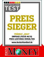 DEUTSCHLAND TEST untersucht Preise und Leistungen