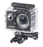 UHD-Action-Cam DV-3717 mit WLAN, Sony-Bildsensor und App, IPX8